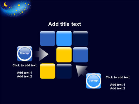 Starry Night PowerPoint Template Slide 16