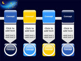 Starry Night PowerPoint Template, Backgrounds | 03794 ...