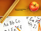 Education & Training: Elementary School PowerPoint Template #03795
