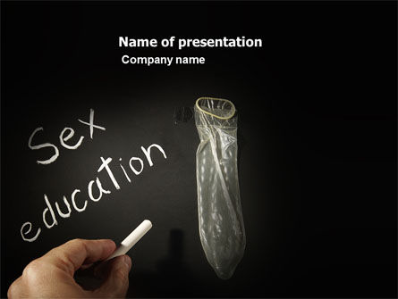 Education & Training: Sex Education PowerPoint Template #03797