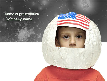 Technology and Science: Childhood Dreams PowerPoint Template #03801
