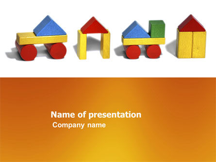 Education & Training: Construction Kit PowerPoint Template #03803