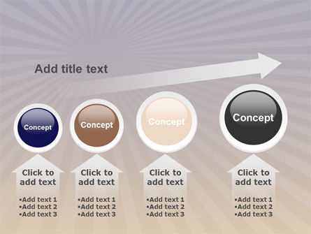 Shining Tree PowerPoint Template Slide 13