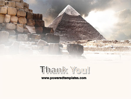 Pharaoh's Land PowerPoint Template Slide 20