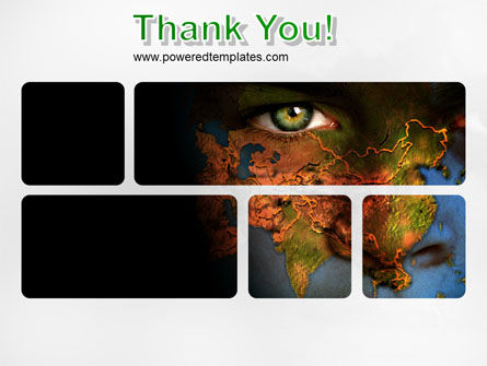 Eyes of Earth PowerPoint Template Slide 20