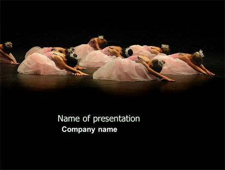 Art & Entertainment: Ballet PowerPoint Template #03808