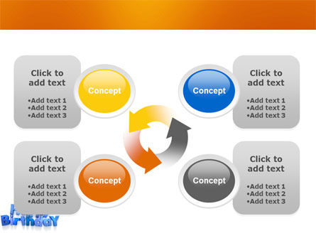 Happy Birthday PowerPoint Template Slide 10