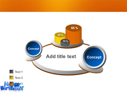 Happy Birthday PowerPoint Template Slide 17
