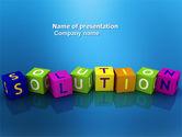 Education & Training: Modello PowerPoint - Soluzione 3d #03819