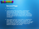 Solution 3D PowerPoint Template#2