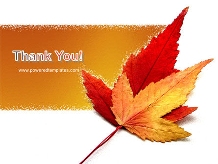 Autumn Foliage PowerPoint Template Slide 20