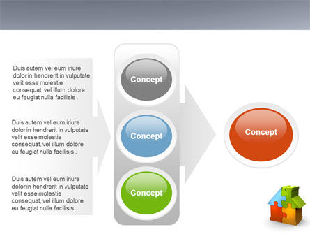 Real Estate Finance Puzzle PowerPoint Template Slide 11