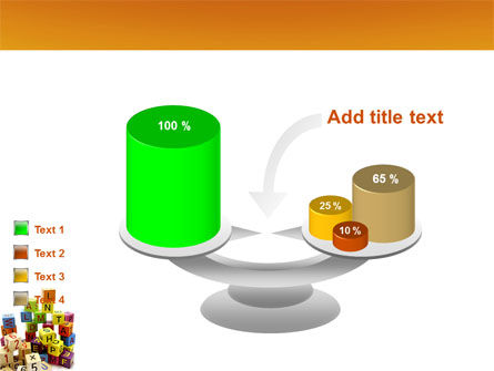 Toy Bricks PowerPoint Template Slide 10