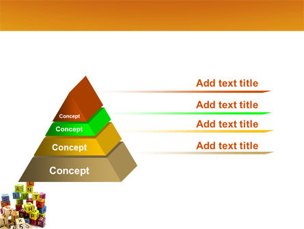 Toy Bricks PowerPoint Template Slide 12