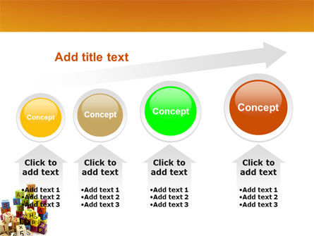 Toy Bricks PowerPoint Template Slide 13
