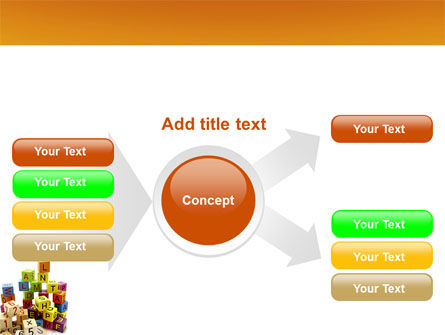 Toy Bricks PowerPoint Template Slide 14
