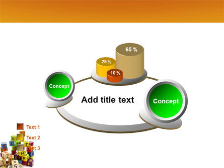 Toy Bricks PowerPoint Template Slide 16
