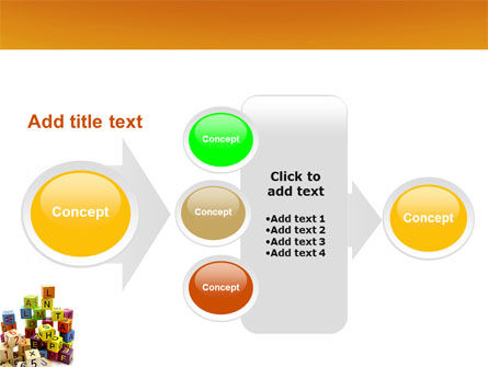 Toy Bricks PowerPoint Template Slide 17