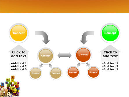Toy Bricks PowerPoint Template Slide 19