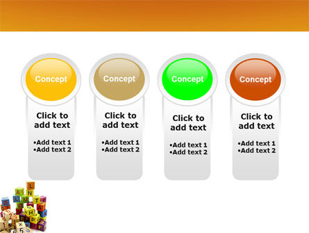 Toy Bricks PowerPoint Template Slide 5