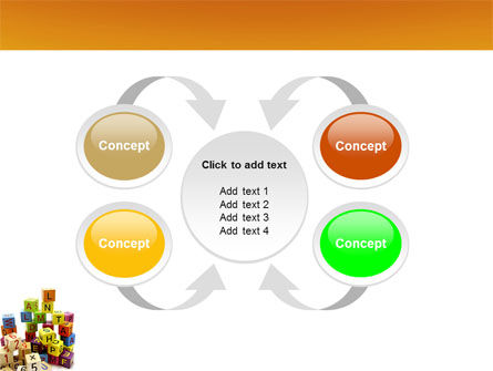 Toy Bricks PowerPoint Template Slide 6