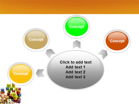 Toy Bricks PowerPoint Template Slide 7