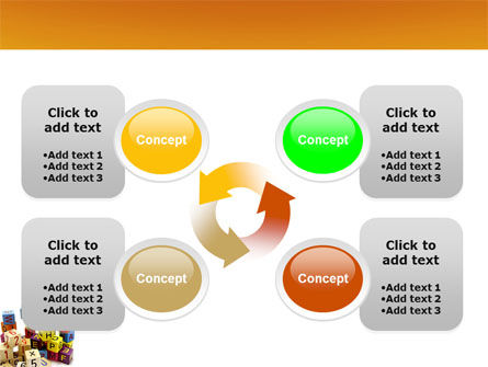 Toy Bricks PowerPoint Template Slide 9