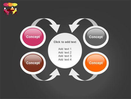 Dialogue PowerPoint Template Slide 6