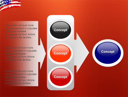 Torn Flag PowerPoint Template Slide 11