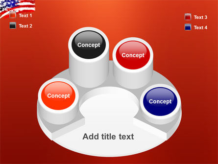 Torn Flag PowerPoint Template Slide 12