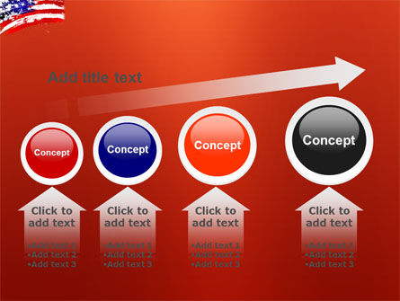 Torn Flag PowerPoint Template Slide 13