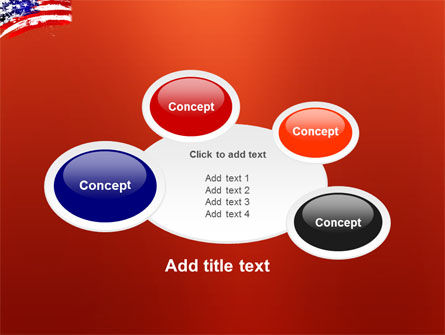 Torn Flag PowerPoint Template Slide 16