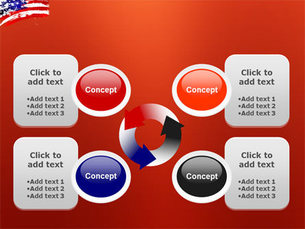 Torn Flag PowerPoint Template Slide 9