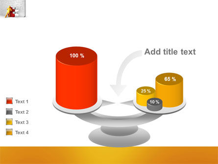 Missing Part Completing PowerPoint Template Slide 10
