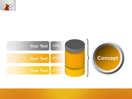 Missing Part Completing PowerPoint Template Slide 11