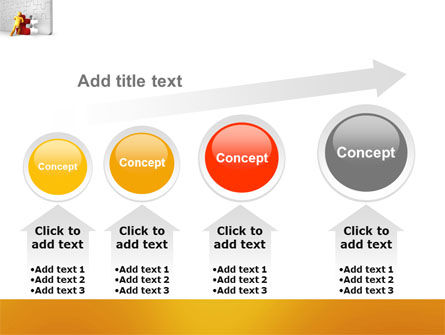 Missing Part Completing PowerPoint Template Slide 13