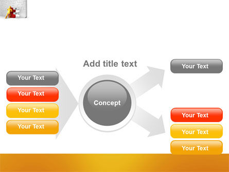 Missing Part Completing PowerPoint Template Slide 14