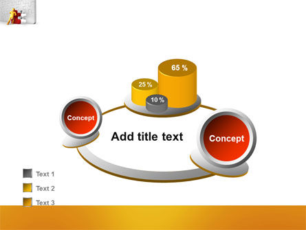 Missing Part Completing PowerPoint Template Slide 16