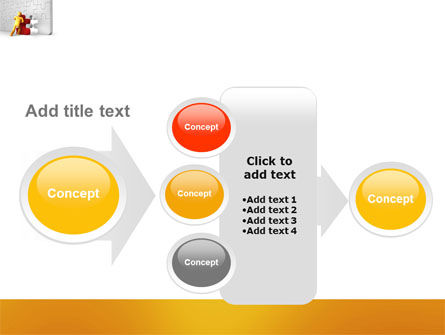 Missing Part Completing PowerPoint Template Slide 17