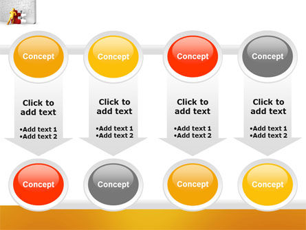 Missing Part Completing PowerPoint Template Slide 18