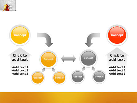 Missing Part Completing PowerPoint Template Slide 19