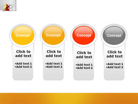 Missing Part Completing PowerPoint Template Slide 5