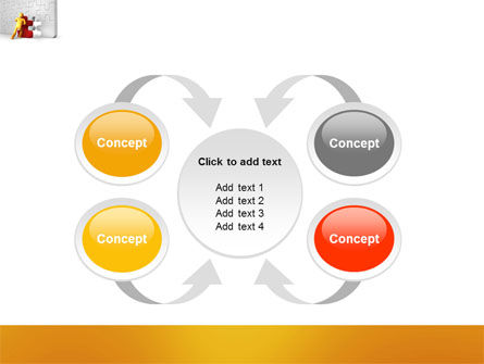 Missing Part Completing PowerPoint Template Slide 6