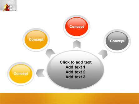 Missing Part Completing PowerPoint Template Slide 7