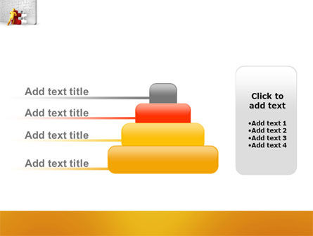 Missing Part Completing PowerPoint Template Slide 8