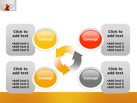 Missing Part Completing PowerPoint Template Slide 9