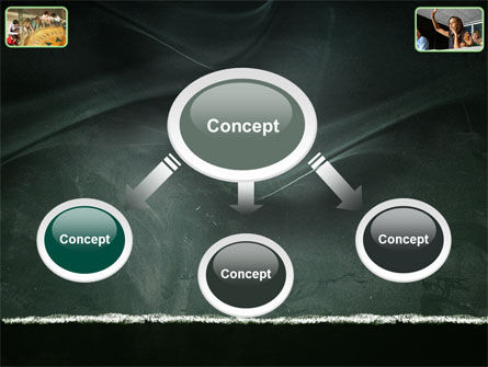 Study Process PowerPoint Template, Slide 4, 03833, Education & Training — PoweredTemplate.com