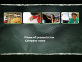 Education & Training: Study Process PowerPoint Template #03833