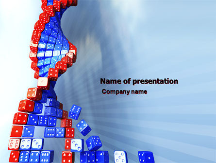 3D: Gene Mutation PowerPoint Template #03834