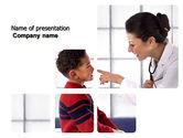Medical: Paediatrist PowerPoint Template #03835